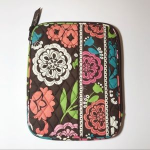 Vera Bradley Tablet Case Lola Pattern Travel Case
